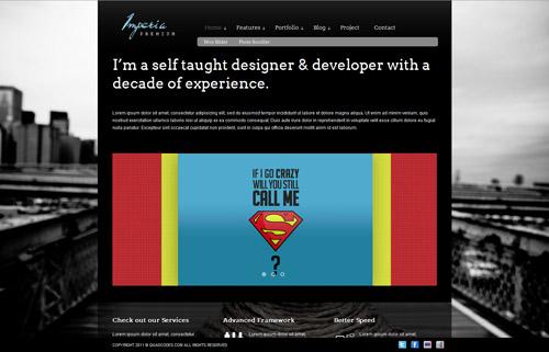 Imperia - Premium Portfolio & Photography Template