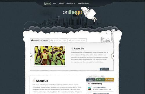 OnTheGo WordPress Theme