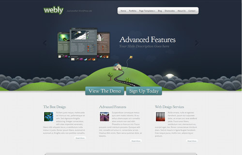 Webly WordPress Theme