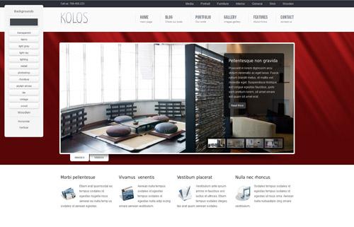 Kolos WordPress Theme