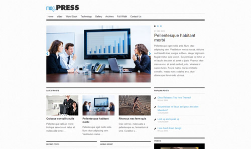 mag.Press is a comprehensive magazine theme framework.