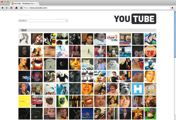 youtube main page michele byrne 18 Cool Concept Designs (Facelift) of Notable Websites