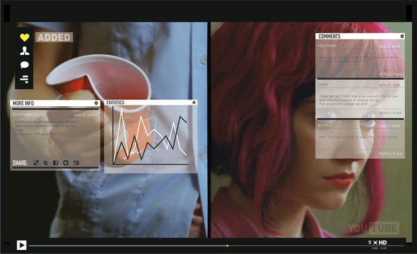 youtube video info michele byrne 18 Cool Concept Designs (Facelift) of Notable Websites