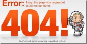 Kreativni Dizajn 404 Stranica