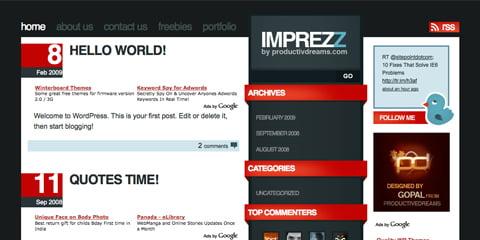 Besplatne teme za WordPress