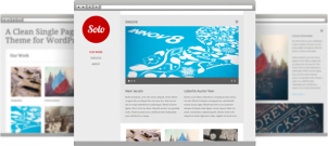Single Page Portfolio Tema za WordPress: Solo