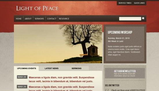 Najbolje WordPressTeme za Crkve i Neprofitne Organizacije