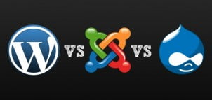 Open Source Suočavanje: WordPress vs Drupal vs Joomla