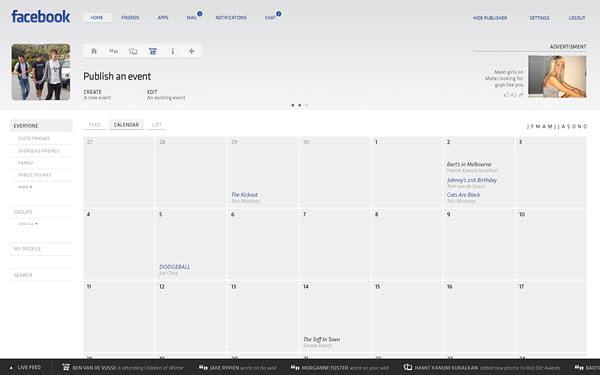 Koncept Dizajn Vodećih Svetskih Web Sajtova