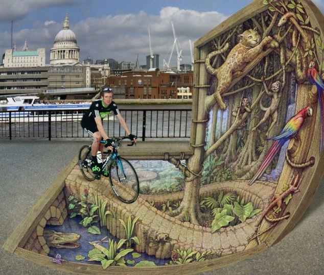 3D Street Art – Optička Iluzija 3D Prikazom