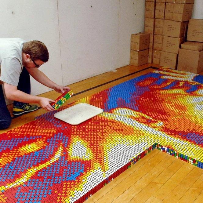 Rubikova Kocka – Umetnički Nivo