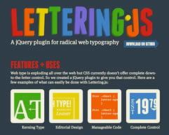 8 JQuery Dodataka za Bolju Tipografiju