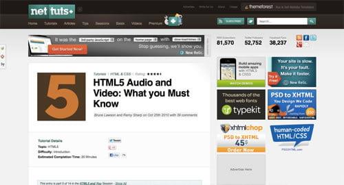 Tutorijal – Kako Ubaciti HTML5 Video u Web Sajt 1.Deo