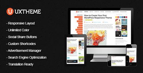 UXTheme Responsiv Premium Tema Fantastičnog Izgleda i Dizajna za Vaš WordPress Blog