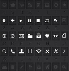 Ikon Fontovi za Lepši Korisnički Interfejs