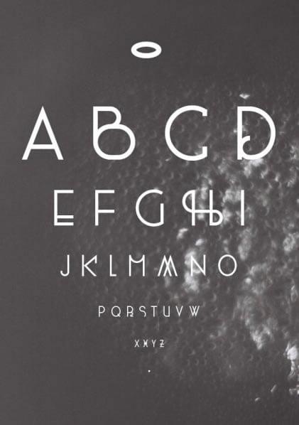 400ml Free Font