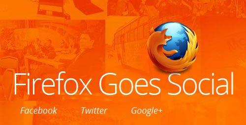 Firefox social