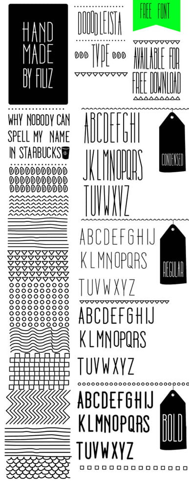 Dooodleista Free Font