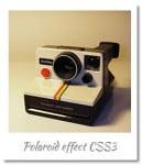 polaroid css3 effect