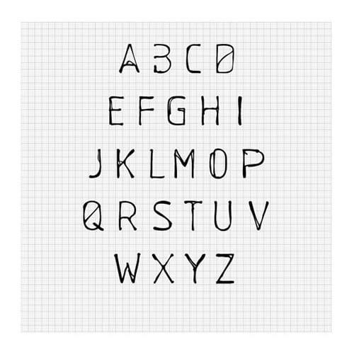 Schablone Free Font