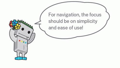 Google preporuka za navigaciju