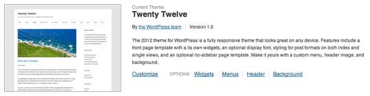 Twenty Twelve Tema