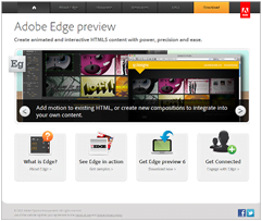 Edge – Novi HTML5 Alat za Web Developere od Adobe