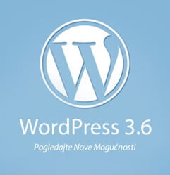 Šta je Novo u WordPress-u 3.6