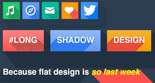 Long-Shadows-in-CSS3