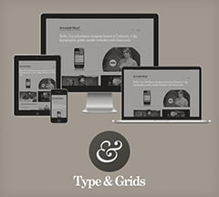 Type & Grids: Besplatan Responsive HTML5 Templejt