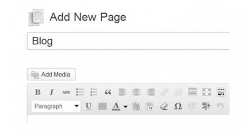 kreiranje-strane-wordpress