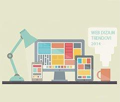 Web Dizajn Trendovi u 2014