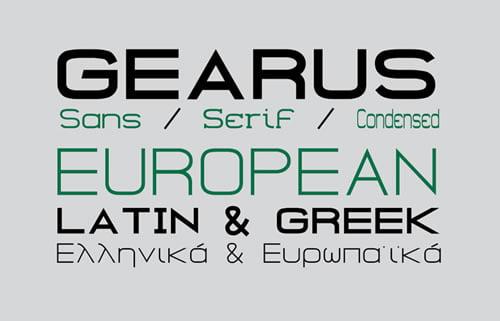 gearus-font