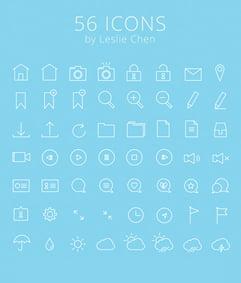 Besplatne Ikonice za Web i UI Dizajn