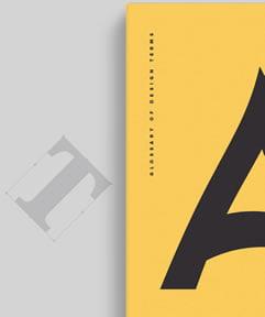Rečnik Dizajn Termina Predstavljen Kreativnom Tipografijom