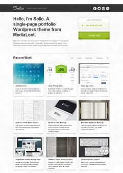 Besplatne Single Page WordPress Teme