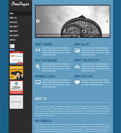 free-wordpress-theme-OnePager