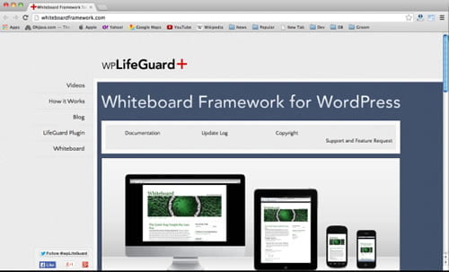 white-board-framework