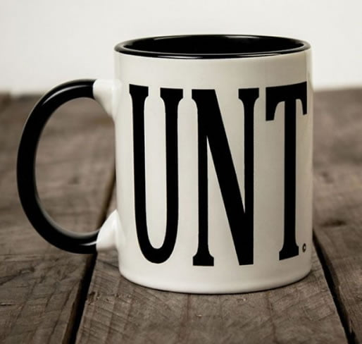 Funny and rude mug