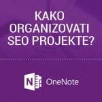 kako organizovati seo projekte