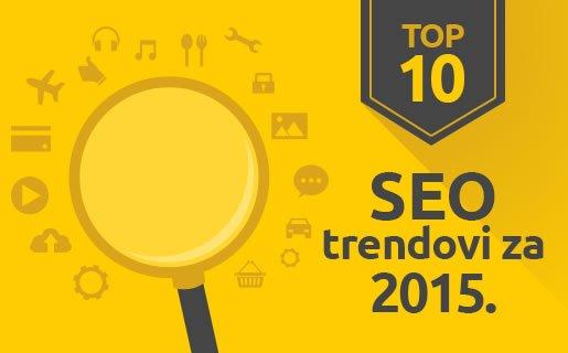 SEO trendovi za 2015: Šta nam donosi budućnost?