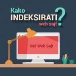 Kako Indeksirati web sajt