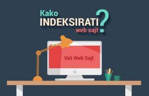 Kako indeksirati web sajt?