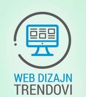 Poslednji trendovi u web dizajnu