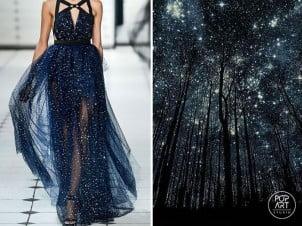 Priroda i dizajn – Ruska umetnica upoređuje poznate haljine sa pejzažima