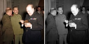 14 Istorijskih fotografija restauriranih u boji