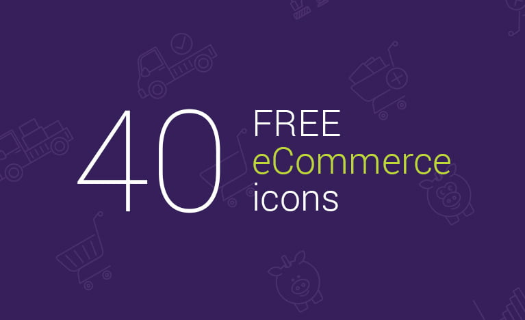 40 Free eCommerce Ai, Eps & PDF vector icons
