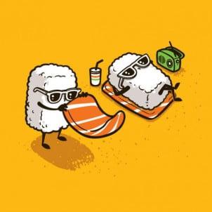 Ilustracije koje prikazuju tajne živote hrane i pića
