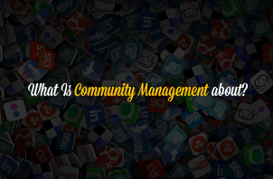 What is community management about?
