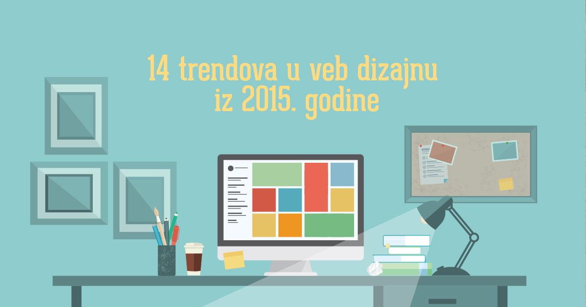 14 trendova u veb dizajnu iz 2015. godine